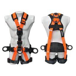 arnes 5 argollas para rescate y soporte lumbar