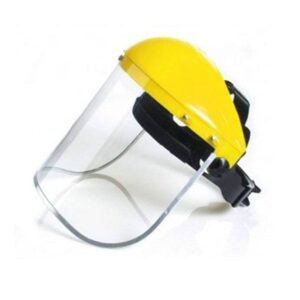 Casquete Portavisor Amarillo con Ratchet