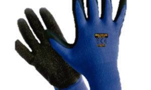 GUANTE MULTIFLEX NITRILO FOAM BLUE