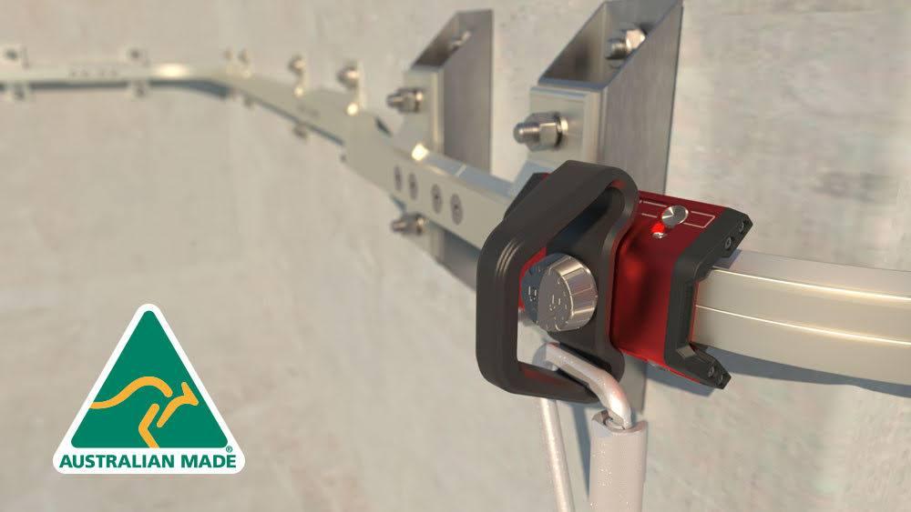 horizontal safethylink montaje en hormigon